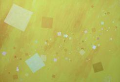 """Emergence"" (30"" x 40""), Acrylic on Watercolor Board"