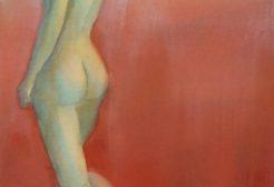 """Contemplation"" (22"" x 15""), Watercolor"